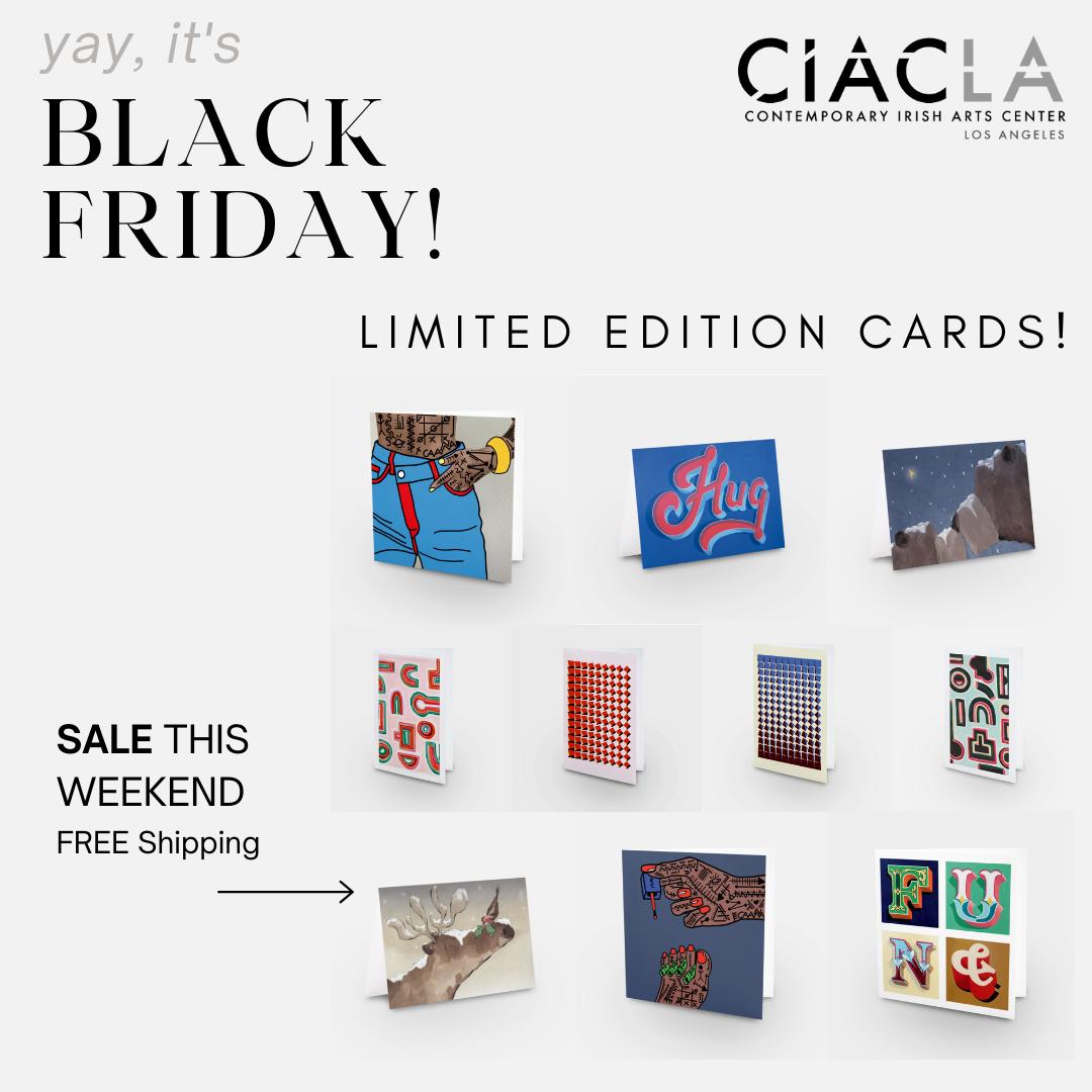 BLACK FRIDAY ciacla cards