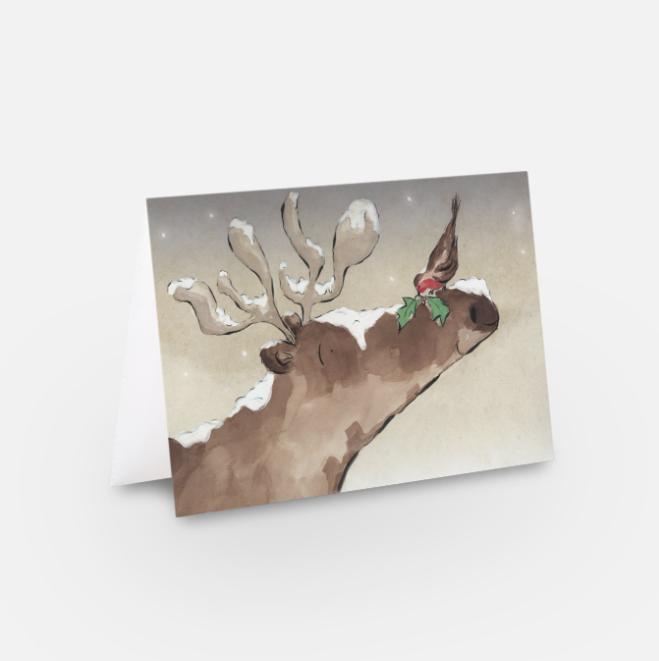 Christina O'Donovan | Reindeer and Robin
